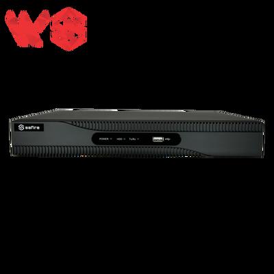 Videograbador 5n1 Safire 16 CH HDTVI / HDCVI / AHD / CVBS / 8 IP (extra)  4K | H.265+