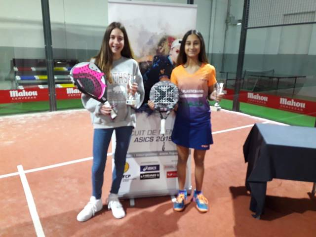 Anna Ortiz i Alexandra Torralba