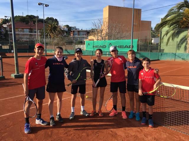 Equip infanil masculí i femení lliga catalana
