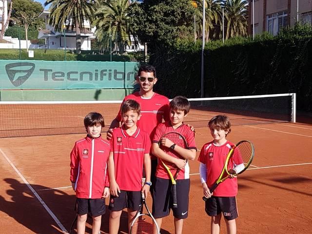 Equip benjamí masculí lliga catalana