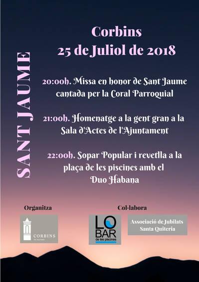 Sant Jaume 2018