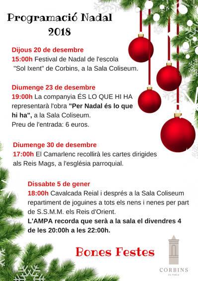 Festival de Nadal de l'escola Sol Ixent
