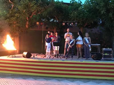 Flama del Canigó i Revetlla de Sant Joan 2019