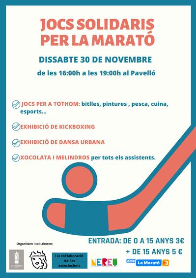 Jocs Solidàris per la Marató