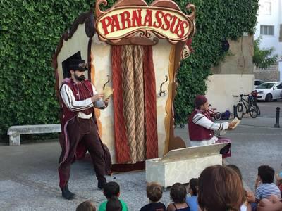 Teatre familiar Els Parnassus i la llegenda del Drac