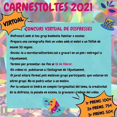 Concurs virtual de disfresses