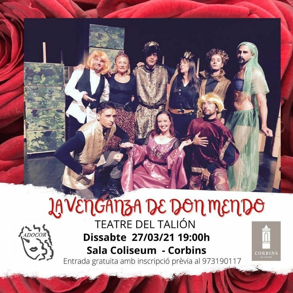 Obra de teatre: La venganza de Don Mendo