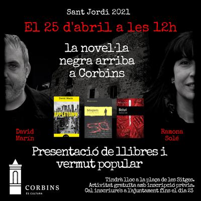 La novel·la negra arriba a Corbins.