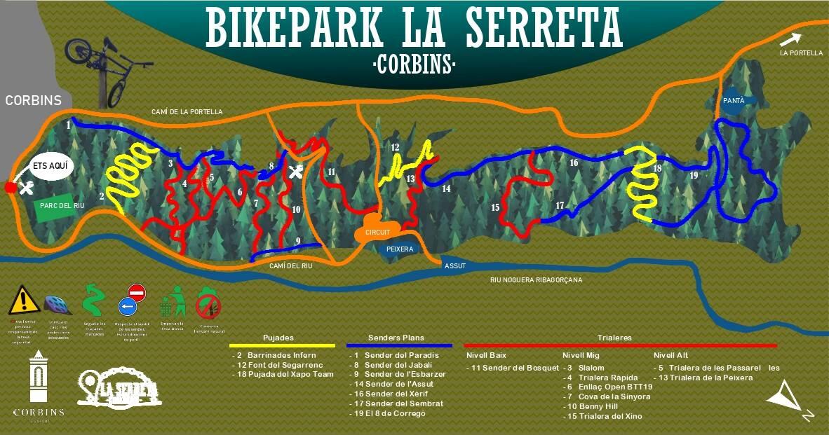 Bikepark La Serreta de Corbins