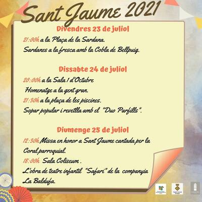 Sant Jaume 2021
