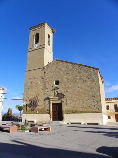 Església Parroquial de Sant Jaume. Patró del Poble