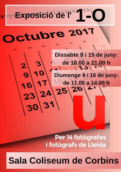 Exposició fotogràfica de l'1 d'octubre