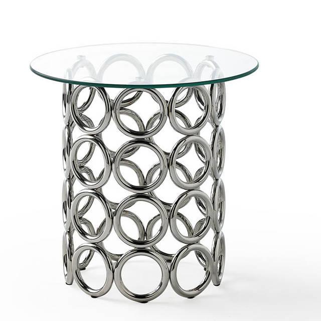 Estructura acer inoxidable i vidre templat de 8mm. Preu: 365€.