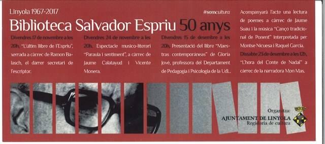Biblioteca Salvador Espriu - 50 anys