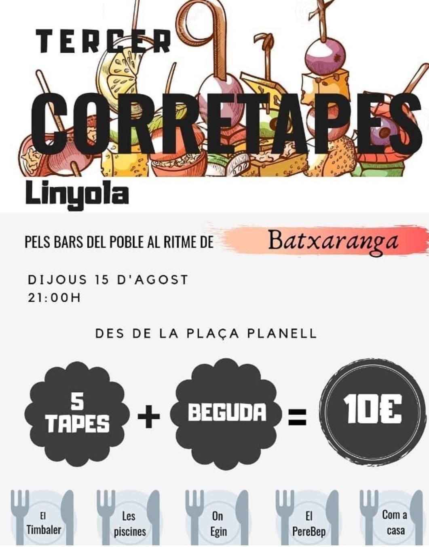 TERCER CORRETAPES LINYOLA