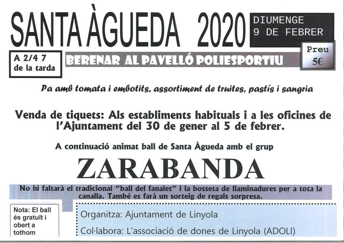 SANTA ÀGUEDA 2020