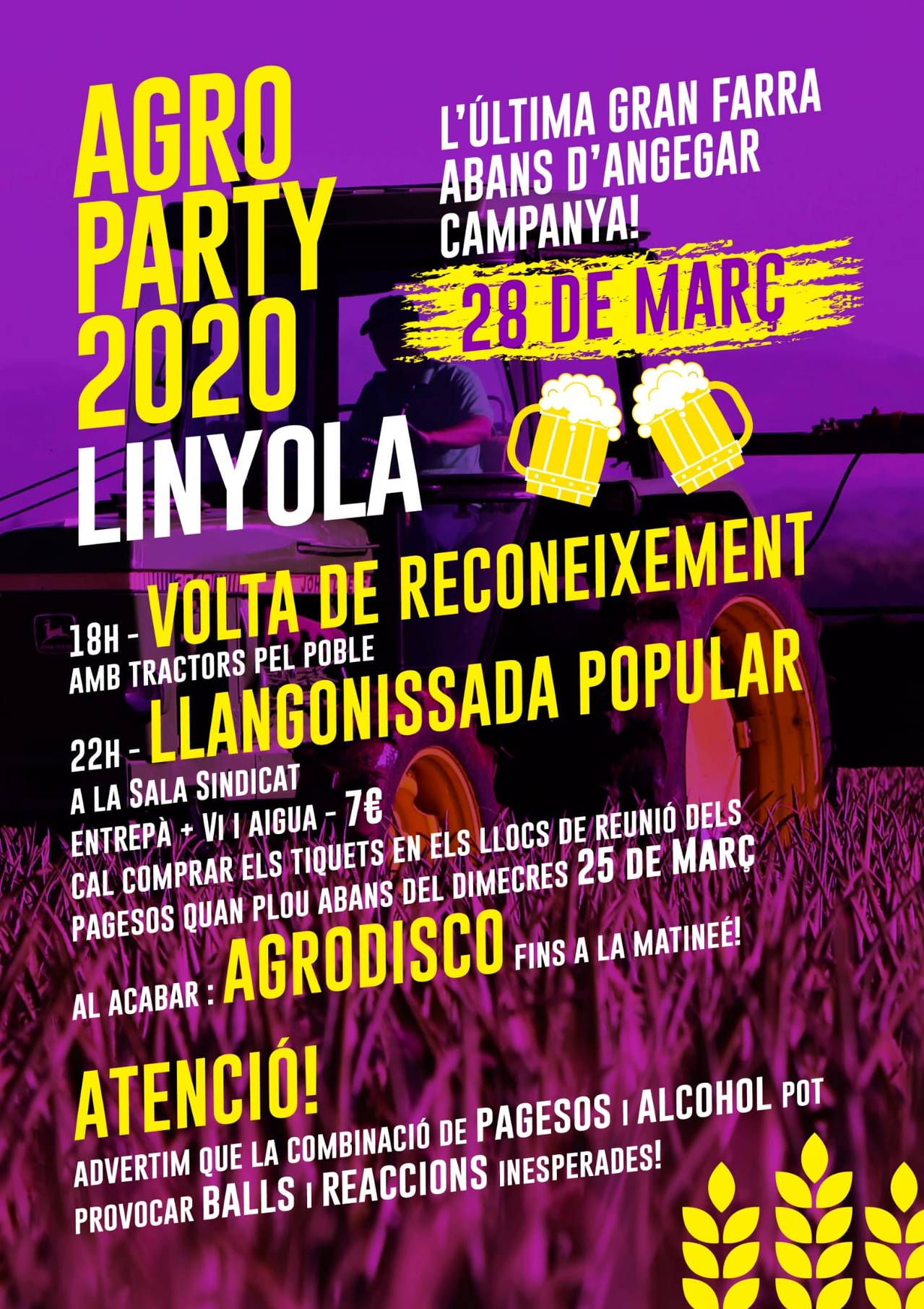 AGRO PARTY 2020 LINYOLA