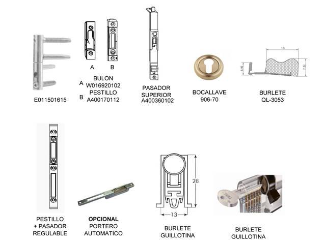 Bastiments, mecanitzats. Ferratges