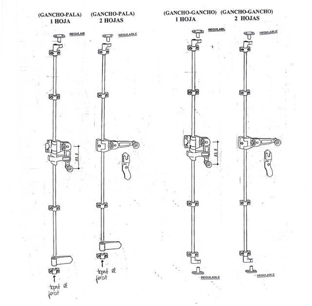 Ferratges - Dibuixos tècnics