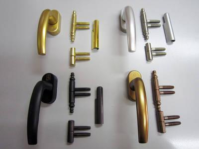 Carpintería complementos - Herrajes, ventilaciones y barnices