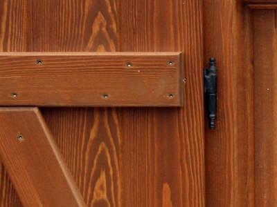 Carpintería complementos - Porticón exterior