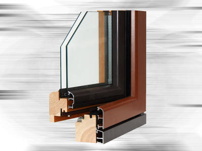 Fusteria stàndard - Fusteria mixta - fusta i alumini