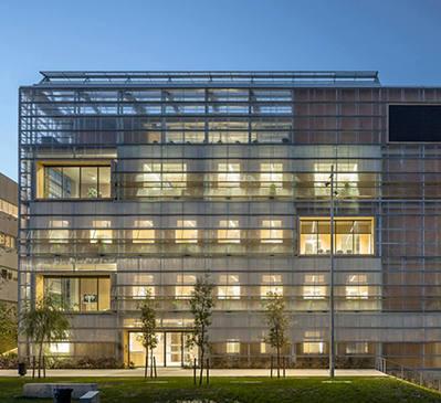Edificio ICTA de la Universidad Autónoma de Bellaterra