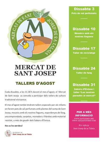Sabors d'Eivissa al Mercat setmanal de Sant Josep de sa Talaia