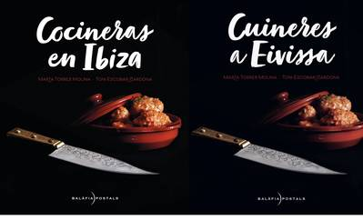 "Presentation of the book ""Cooks in  Ibiza"" by Marta Torres and Toni Escobar"