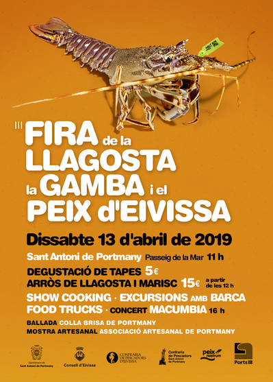 III Fira de la llagosta, the prawn and the peix fort d'Eivissa
