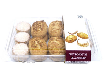 Almond pasta assortment 450 gr