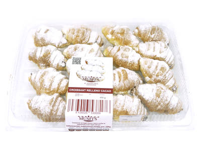 Choco stuffed croissant 16 units (Family)