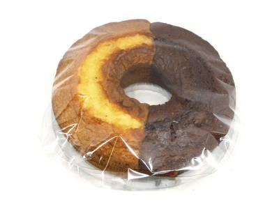 Round marble cake 400 grs