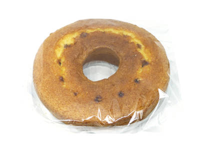 Round sponge cake filled with choco 400 grs