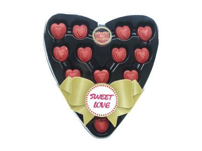 "Box of chocolates 15 units ""Valentine's Day"""