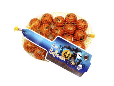 Red Halloween pumpkins 100 Grs.