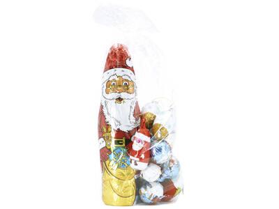 Assorted bag 350 grs (Balls + Santa Claus)