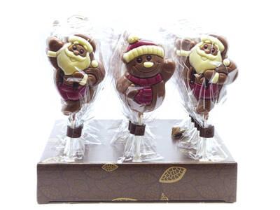 Choco lollipops 35 Grs. Christmas