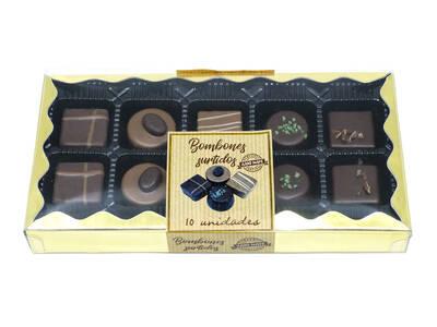 Assorted chocolates 10 units. -Handmade-