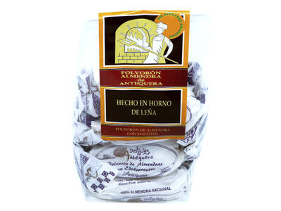 """Dust. Almond 200 Gr. Antequera """"Without sugar"""""""