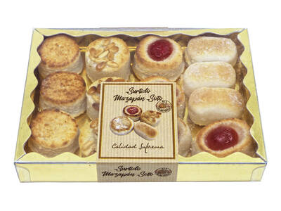 Assorted marzipan soto 340 Grs.