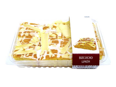 Decorated lemon cake 400 grs