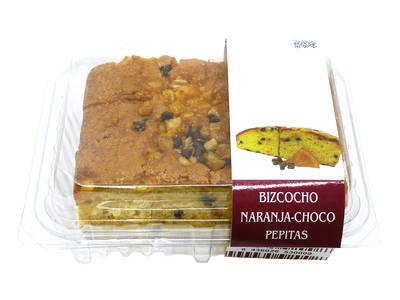 Orange sponge cake Choco Pepitas 370 grams