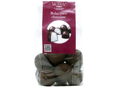 """Bolas coco chocolate 250 Grs. """"Musfi's"""""""