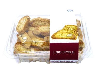 Carquinyolis 300 grs