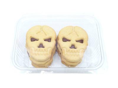 Chocolate skull cookie 200 Grs.