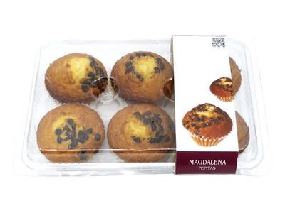 Muffins Pepitas 6 units