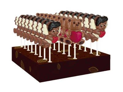 Choco lollipop 30 Grs. Valentine's Day