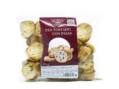 Slices Pan Raisins 125 grs