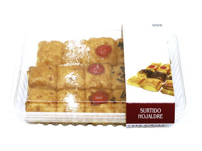 Assorted puff pastry 325 grs